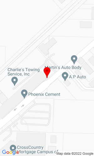 Google Map of National First Equipment, LLC 55 Lou Groza Blvd, Berea, OH, 44017